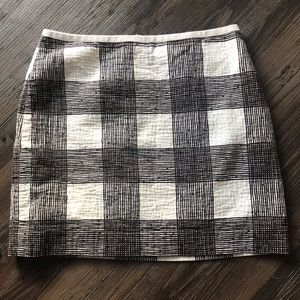 Plaid Madewell Skirt Size 2